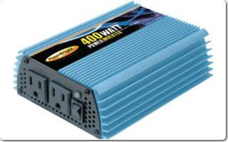 Model PW400-12 12V DC to AC 400 Watt Power Inverter