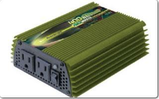 Model ML400-24 24 Volt DC to 110 Volt AC power inverter,400 watts continuous, 800 watts peak