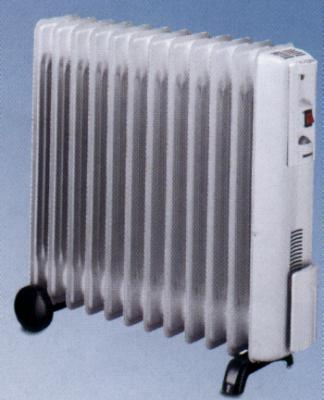 REAL DB15 9-Fin Oil Filled Radiator for 220 volts