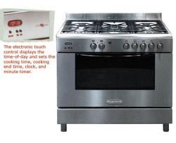 Frigidaire FPGFT9055CLS by Electrolux Gas Range For 220 Volts