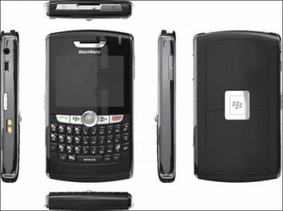BLACKBERRY 8820 BLACK UNLOCKED QUADBAND GSM PHONE