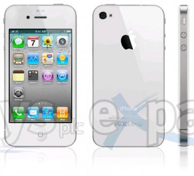 APPLE IPHONE 4G-16GB  FACTORY UNLOCKED (WHITE)