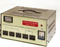 TC-5000D 5000 WATTS DELUXE VOLTAGE TRANSFORMER RULATOR STEP UP AND STEP DOWN FOR WORLD WIDE USE