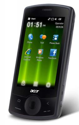 Acer E100 beTouch Unlocked Quad Band GSM Cell Phone