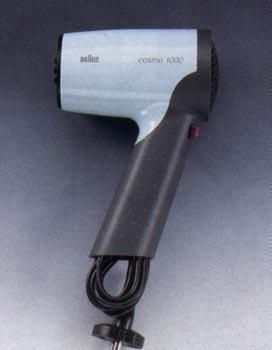 Braun ATD1000 Hair Dryer for 220 volts