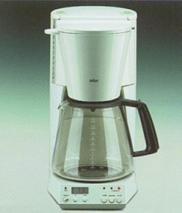 Braun KF185 Digital Coffee Maker for 220 Volts