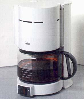 Braun KF22 8 Cup Coffemaker for 220 Volts
