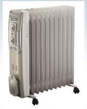Bionaire BIOH2503 Oil Filled Heater/Radiator for 220-240 Volt/ 50 & 60 Hz