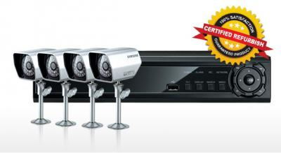 Samsung CCTV SDE-3000N 4CH DVR & 4 Night Cameras (Refurbished)