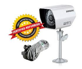 Samsung SOC-A100 CCTV Night Vision Camera Set (Refurbished)