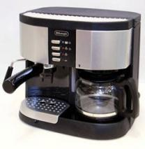 DeLonghi BCO255 3 in 1  Pumped Combo Coffee Espresso Maker