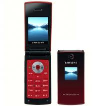 SAMSUNG SGH-E215 SCARLET RED QUAD BAND UNLOCKED GSM MOBILE PHONE
