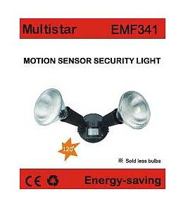 EWI EMF341 Motion Sensor Security Light 220-240Volt, 50/60Hz