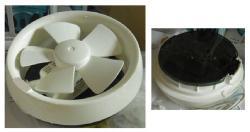 EWI EX20 Ventilating Fan for 220-240 Volts 50Hz