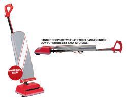 EWI EXL2005RH Upright Vacuum for 220 Volts