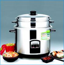 EWI TRC6622SS Stainless Steel  Rice Cooker for 220 Volts