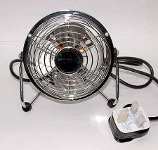 EWI EGPF1804SX Table fan for 220 Volts