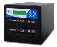 Professional Single Target, PAL/NTSC Up to 8X BD-R/DVD/CD Duplicator for 100-240 Volts