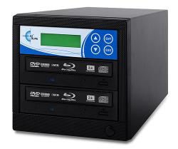 Professional 2 Target, PAL/NTSC Up to 8X BD-R/DVD/CD Duplicator for 100-240 Volts