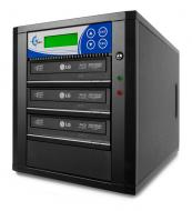 Professional 4 Target, PAL/NTSC Up to 8X BD-R/DVD/CD Duplicator for 100-240 Volts