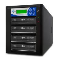 Professional 11 Target, PAL/NTSC Up to 8X BD-R/DVD/CD Duplicator for 100-240 Volts