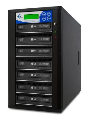Professional 7 Target, PAL/NTSC Up to 8X BD-R/DVD/CD Duplicator for 100-240 Volts