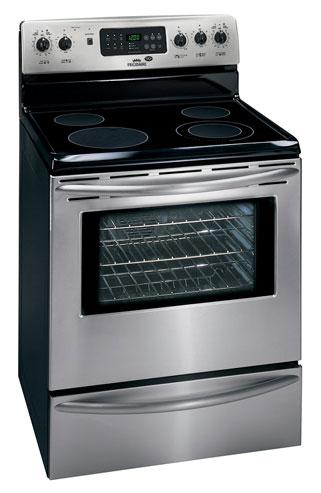 how to clear an error code on my frigidaire stove