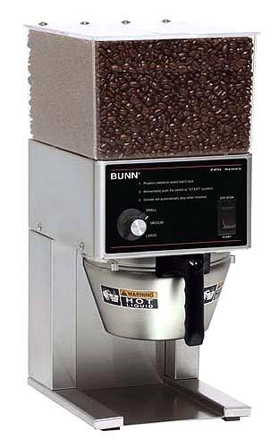 Bunn Commercial Coffee Grinder ~ Bunn fpg commercial coffee grinder volt hz