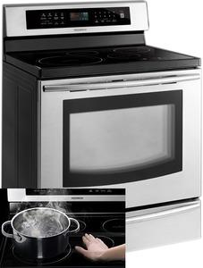 Samsung FTQ307NWGX - Electric Freestanding Induction Range Factory Refurbished (FOR USA