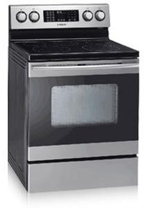 "Samsung FTQ352IWUX - 30"" Freestanding Electric Range Stainless Steel, Factory Refurbished (FOR USA )"
