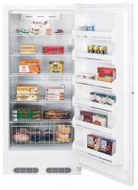 GE FUG20DSRWH Upright Freezer for 220 volts only