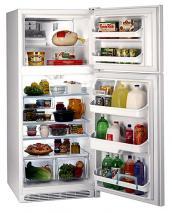 Frigidaire FGTD23V6GW/MW Top Mount Refrigerator  220-240 Volt, 50-60 Hz