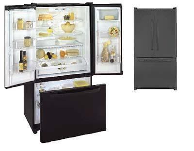 Maytag G32526PEKB -Black- 220 Volt Appliances Three-Door Refrigerators