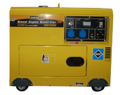 GENSCO D7000 GENERATOR FOR 220-240 VOLTS