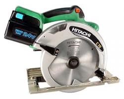 Hitachi C7D 220-240 Volt Cordless Circular Saw with Powerful and fan-cooled 24V DC motor