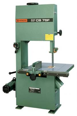 "Hitachi CB75F Band Saw with 14 1/2 "" Power by a 2.8 hp motor,Cast iron tilting table 220 VOLTS NOT FOR USA"