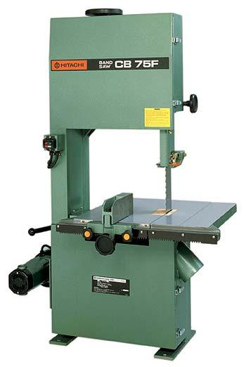 Hitachi Cb75f 230 Volt Band Saw With 14 1 2 Cutting Capacity Power By A 2 8 Hp Moto