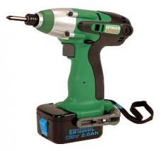 Hitachi WH12DM 220-240 Volt Cordless Impact Driver Drill