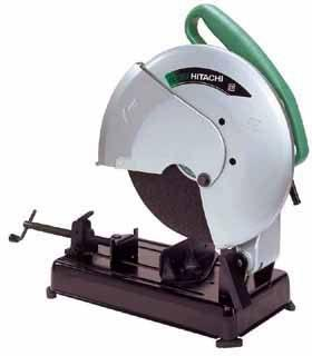 Hitachi CC14SE 220 Volt 50Hz Cut-Off Saw, double insulated and sturdy aluminum housing with inner molded insulation around motor