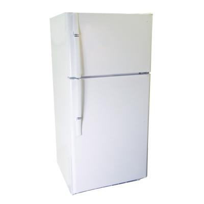 Haier HRTS18SADW Premium E-Star 18.2 cu. ft. Top-Mount Refrigerator with Freezer WHITE FACTORY REFURBISHED (FOR USA)