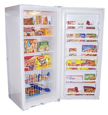 Haier HUF205PB 20.5 Cubic Foot Capacity Full-Size Frost-Free Freezer White FACTORY REFURBISHED (FOR USA)