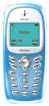 HAIER D6000 TRIBAND GSM PHONE- UNLOCKED