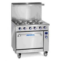 Imperial IMPR6E Electric Cooking Range 240Volts 50Hz 3Phase