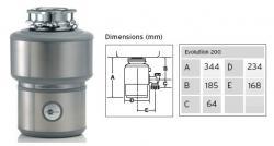 Insinkerator Evolution 200 Garbage Disposal FOR 220 VOLTS