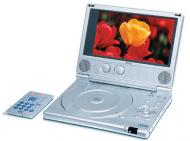 Yes PDV-91 Portable DVD Player (Region Free) With Card Reader & USB Input