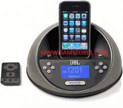JBL On Time Micro Compact loudspeaker dock and clock radio for iPod and iPhone