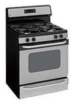 GE JGBP36SEMSS gas range for 220 volts ony