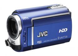 JVC GZ-MG330 EVERIO HARD DISK CAMCORDER-BLUE