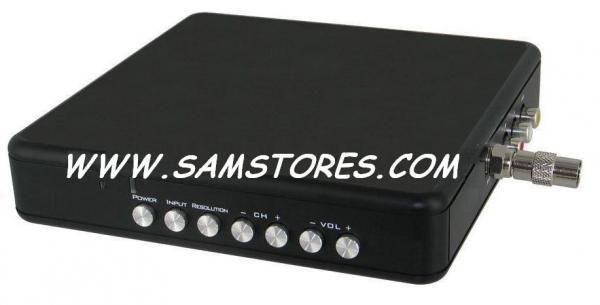 International KDV-8100RF PAL-NTSC Video converter with TV Tuner and HDkdv video