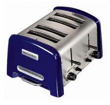 KitchenAid 5KTT890EBU Pro-Line Series Toaster - 4-slice - Cobalt Blue 220 volts 50 Hz NOT FOR USA